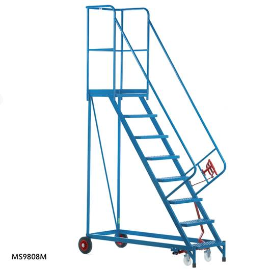 Picture of Fort Heavy Duty Mobile Steps - Steel Treads