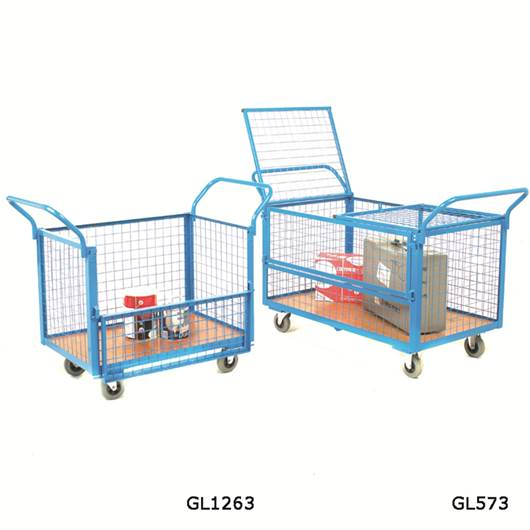 Picture of Mesh Security Trolleys