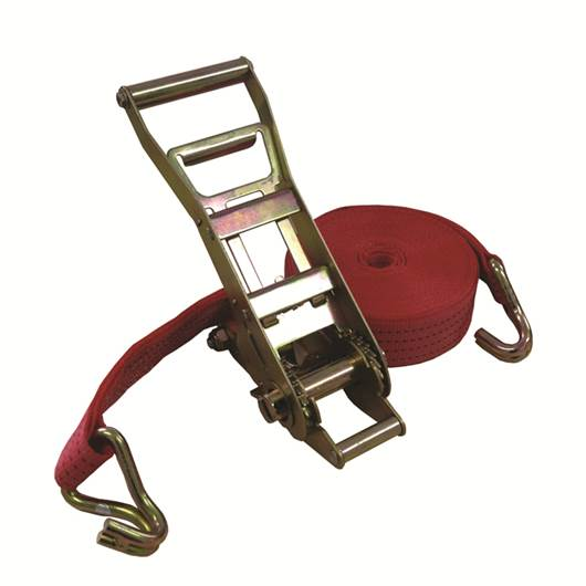 Picture of Ergonomic Ratchet Strap With 50MM Lashing & Claw Hooks