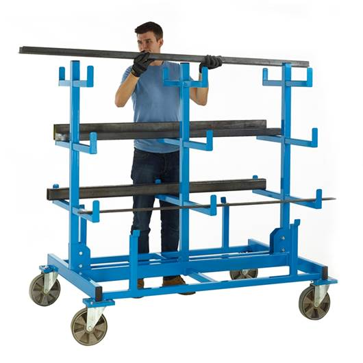 Picture of Heavy Duty Mobile Bar Storage Rack