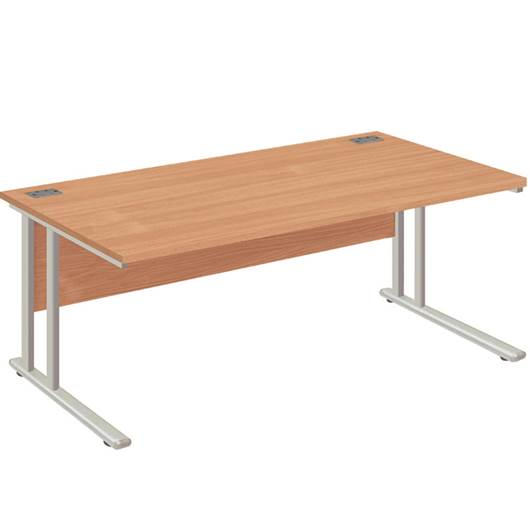Picture of Fraction2 Desk - Rectangular Workstation