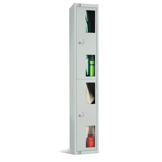 Picture of Two Door Vision Panel Lockers