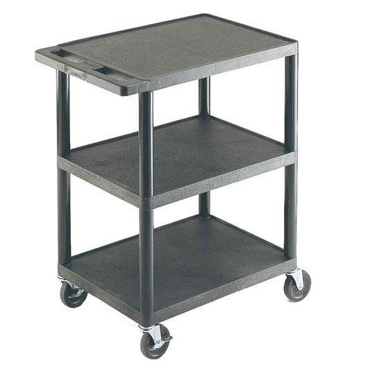 Picture of Multi-Purpose Trolleys with 3 Flat Shelves