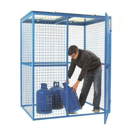 Picture of Lock Up Security Cage