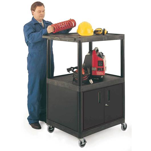 Picture of Large Multi-Purpose Trolley with Cupboard