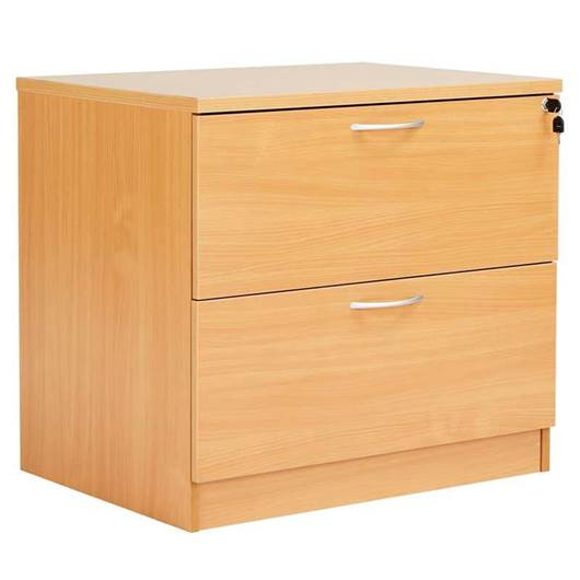 Picture of Fraction Desk High Lateral Pedestal